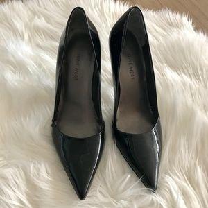Nine West Patent Leather Stilettos black size 6.5